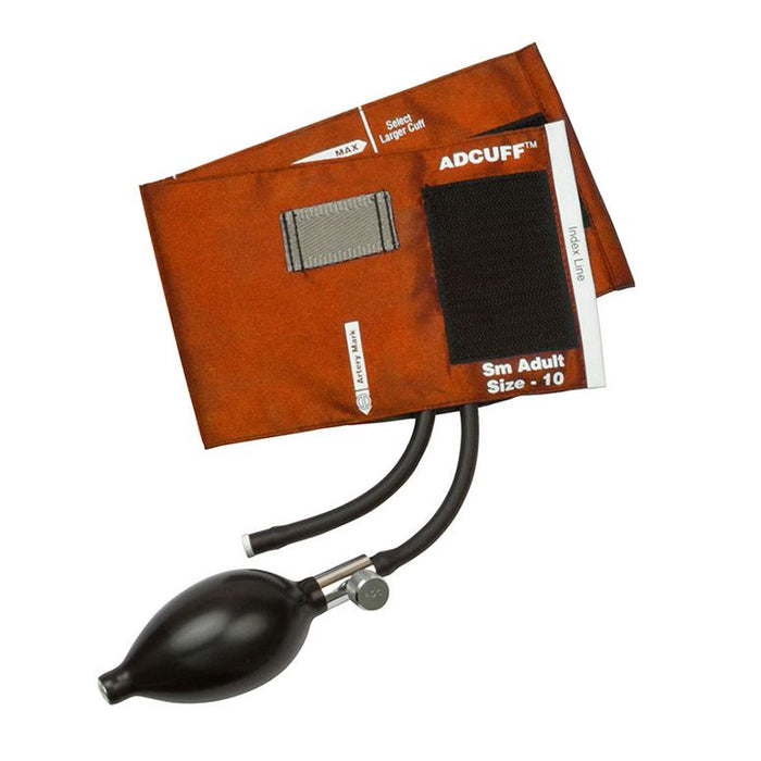 ADC Adcuff Sphygmomanometer Inflation System - Small Adult - Orange