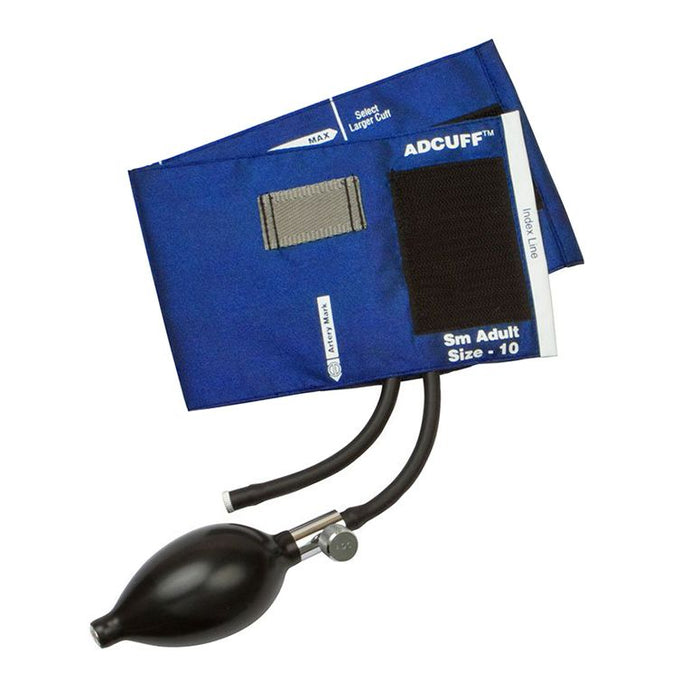 ADC Adcuff Sphygmomanometer Inflation System - Small Adult - Royal Blue