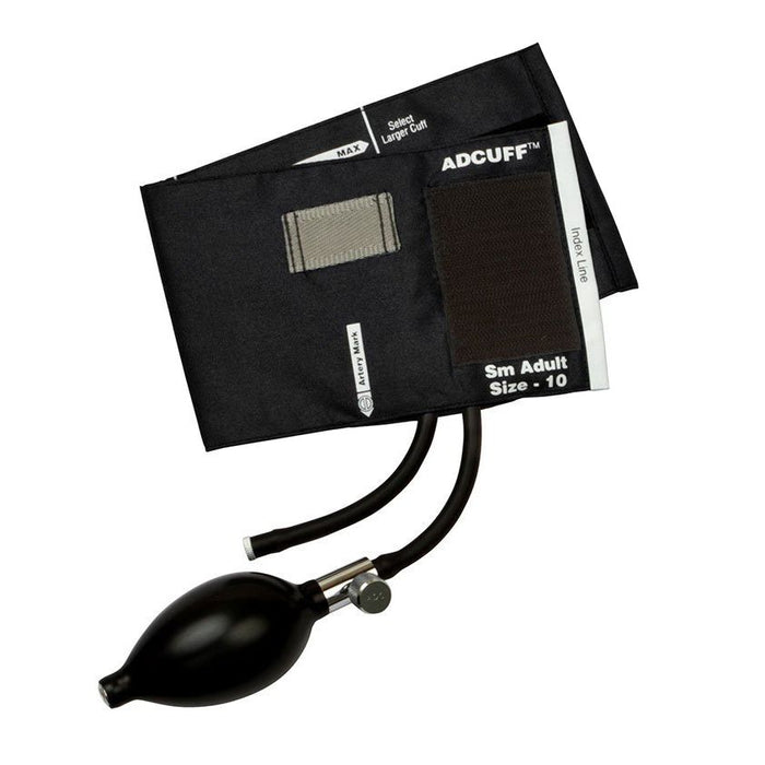 ADC Adcuff Sphygmomanometer Inflation System - Small Adult - Black