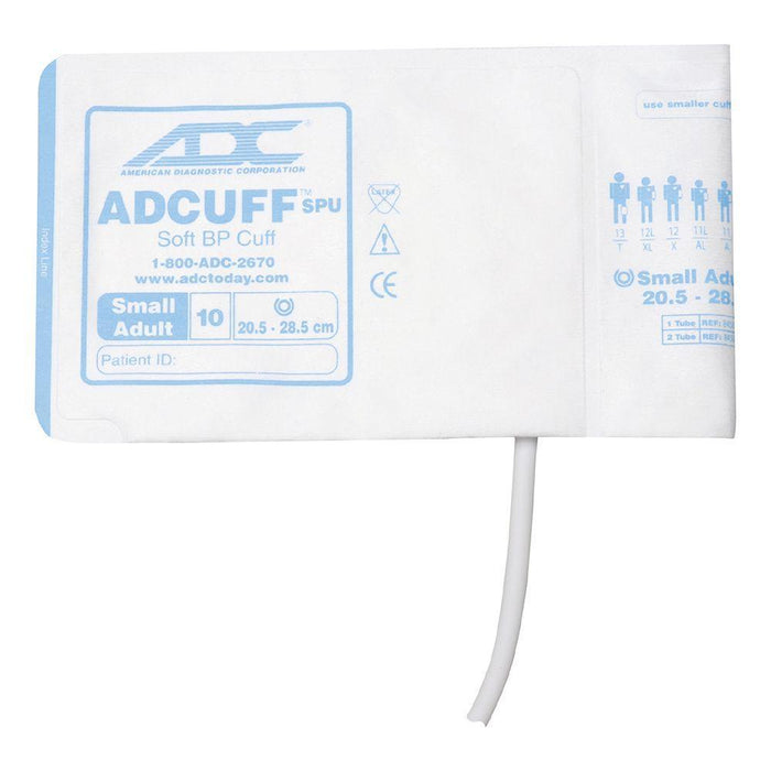 ADC Adcuff SPU Cuff and Bladder with One Tube and Bayonet Connector - Small Adult - Royal Blue