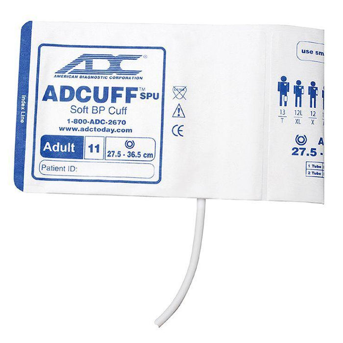 ADC Adcuff SPU Cuff and Bladder with One Tube and Bayonet Connector - Adult - Navy