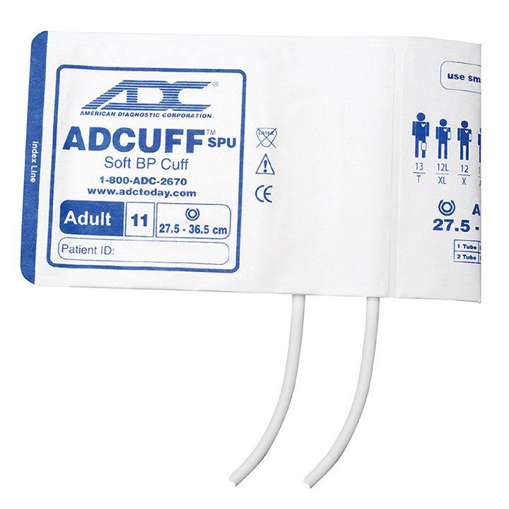 ADC Adcuff SPU Cuff and Bladder with Two Tubes - Adult - Navy