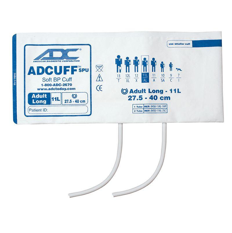 ADC Adcuff SPU Cuff and Bladder with Two Tubes - Adult Long - Navy