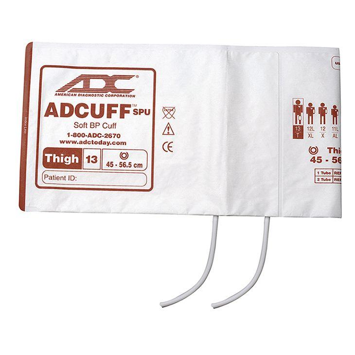 ADC Adcuff SPU Cuff and Bladder with Two Tubes - Thigh - Brown