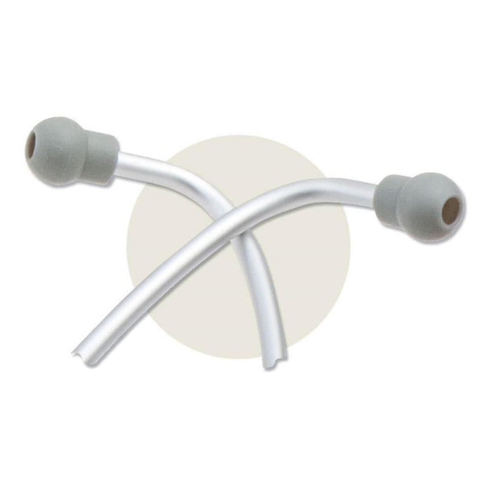 ADC Adscope-Lite 612 Platinum Clinician Stethoscope Eartips Crossed