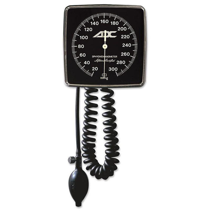 ADC Adstation 56122 3.5V Wall Coax Plus Ophthalmoscope - Wall Aneroid Sphygmomanometer