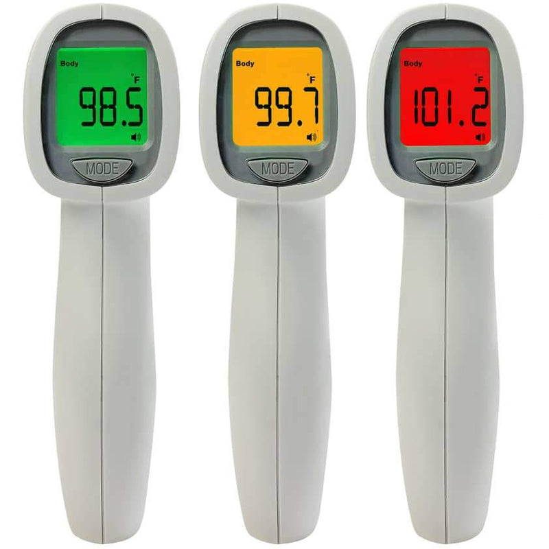 ADC Adtemp 433 Non-Contact Thermometer color-coded LCD