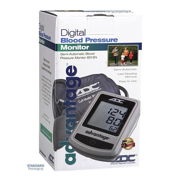 ADC Advantage 6012N Semi-Automatic Digital Blood Pressure Monitor Packaging