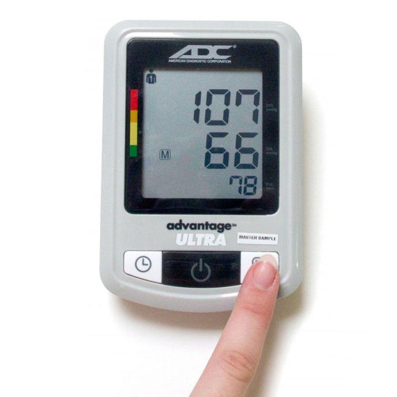 ADC Advantage Ultra 6023N Automatic Digital Blood Pressure Monitor in Use