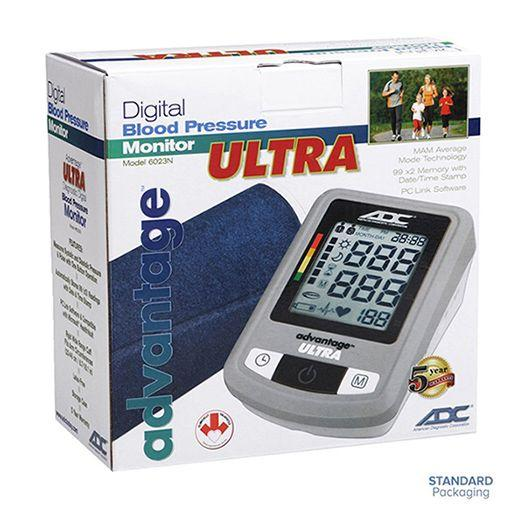 ADC Advantage Ultra 6023N Automatic Digital Blood Pressure Monitor Packaging