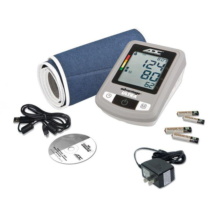 ADC Advantage Ultra 6023N Automatic Digital Blood Pressure Monitor with Accessories