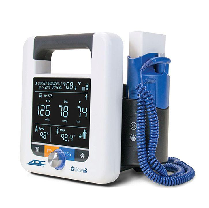ADC ADView 2 Modular Diagnostic Station - Blood Pressure with Temperature Module