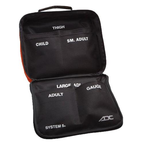 ADC Carry Case for System 5 Portable 5 Cuff Sphygmomanometer Multicuff Kit