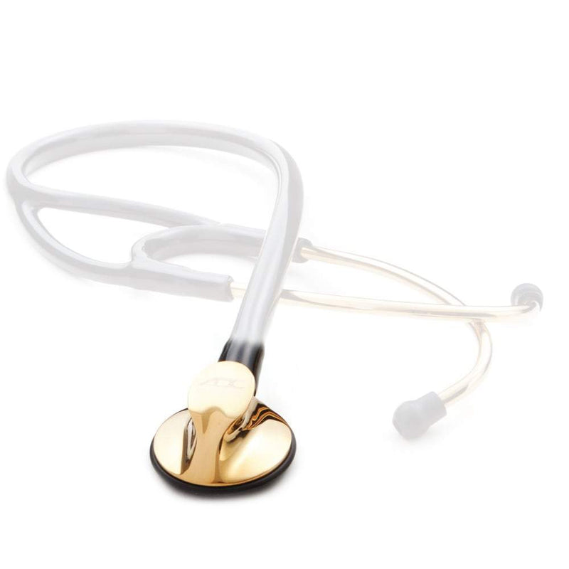 ADC Chestpiece for Adscope 600 Platinum Cardiology Stethoscope - Gold Finish