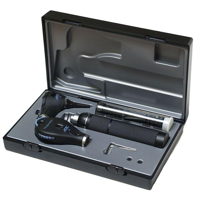 ADC Diagnostix 5410 3.5V Portable Otoscope/Ophthalmoscope Diagnostic Set - In Case