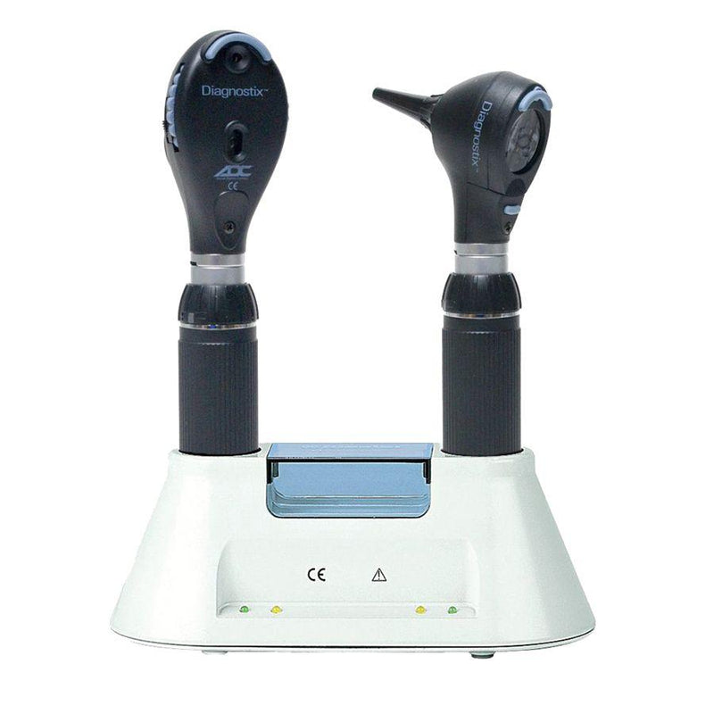 ADC Diagnostix 5510 3.5V Otoscope/Ophthalmoscope Diagnostic Desk Set