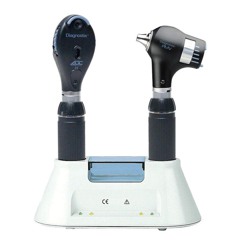 ADC Diagnostix 5580 3.5V PMV Otoscope/Ophthalmoscope Diagnostic Desk Set