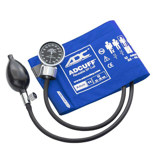 ADC Diagnostix 700 Pocket Aneroid Sphygmomanometer - Adult - Royal Blue