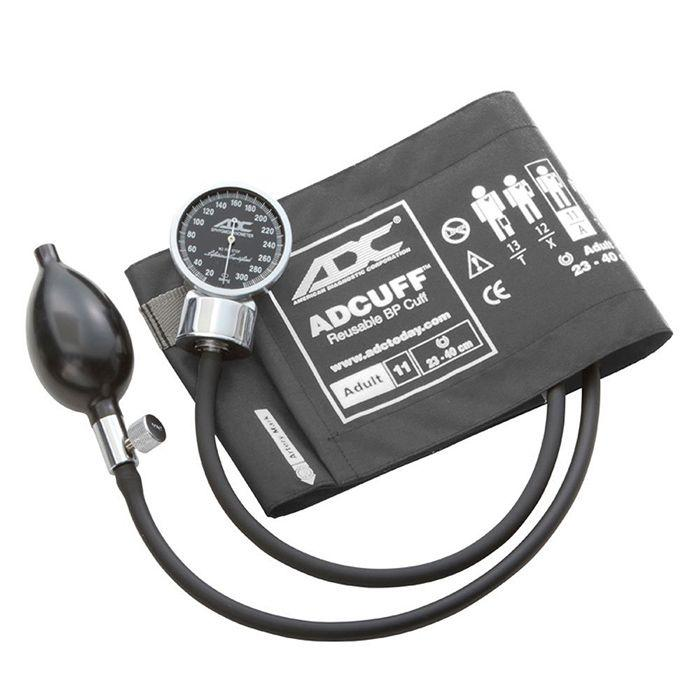 ADC Diagnostix 700 Pocket Aneroid Sphygmomanometer - Adult - Gray