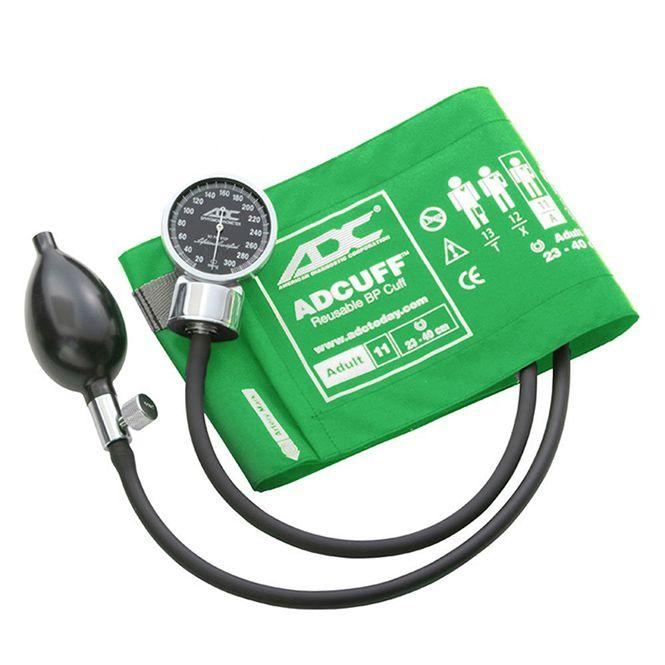 ADC Diagnostix 700 Pocket Aneroid Sphygmomanometer - Adult - Green