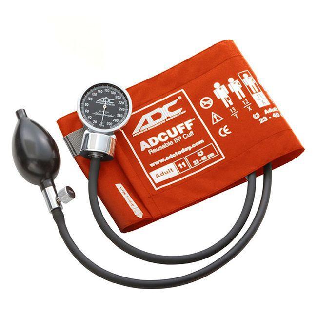 ADC Diagnostix 700 Pocket Aneroid Sphygmomanometer - Adult - Orange