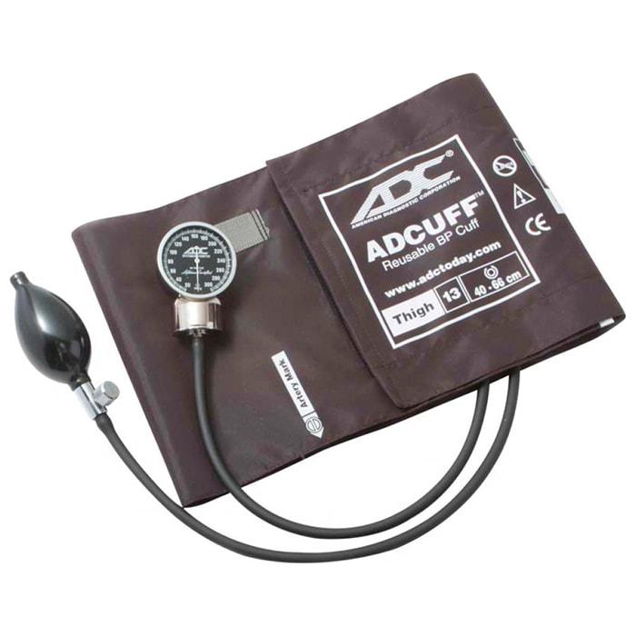 ADC Diagnostix 700 Pocket Aneroid Sphygmomanometer - Thigh - Brown