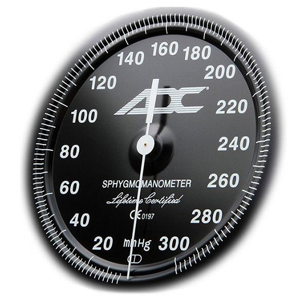 ADC Diagnostix 703 Palm Aneroid Sphygmomanometer - Small Adult - Dial
