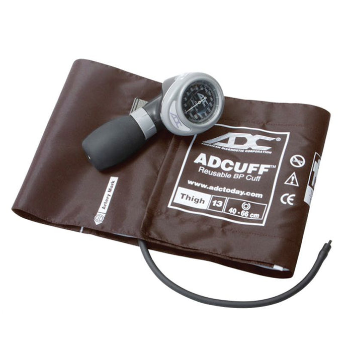 ADC Diagnostix 703 Palm Aneroid Sphygmomanometer - Thigh - Brown