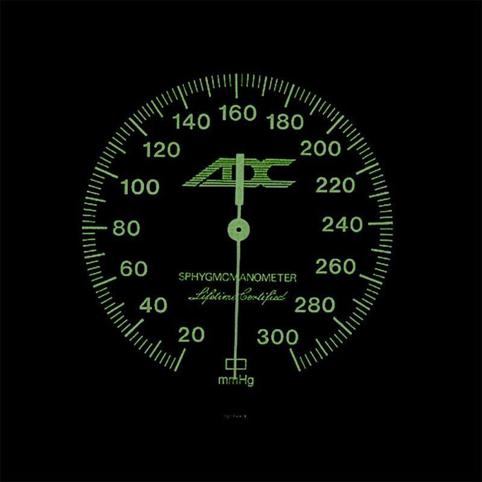 ADC Diagnostix 703 Palm Aneroid Sphygmomanometer - Thigh - Luminescent Dial