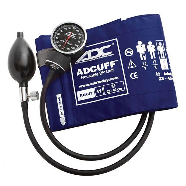 ADC Diagnostix 720 Pocket Aneroid Sphygmomanometer - Adult - Royal Blue
