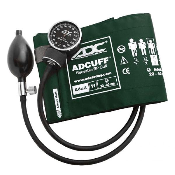 ADC Diagnostix 720 Pocket Aneroid Sphygmomanometer - Adult - Dark Green