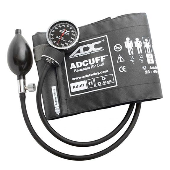 ADC Diagnostix 720 Pocket Aneroid Sphygmomanometer - Adult - Gray