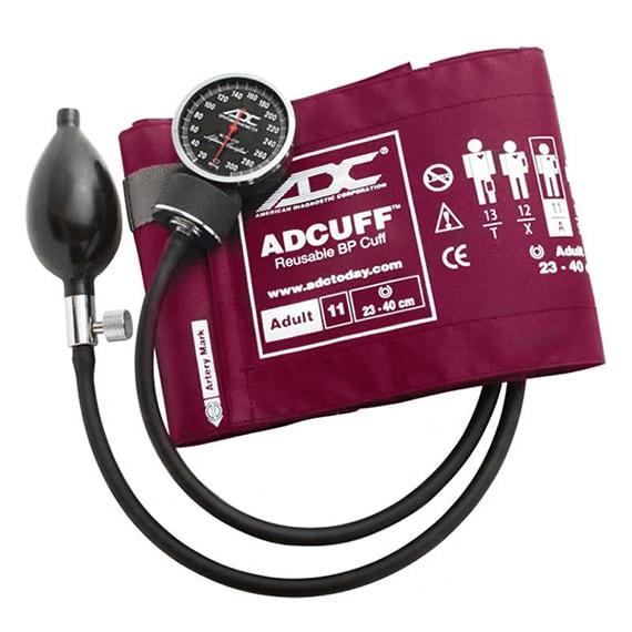 ADC Diagnostix 720 Pocket Aneroid Sphygmomanometer - Adult - Magenta