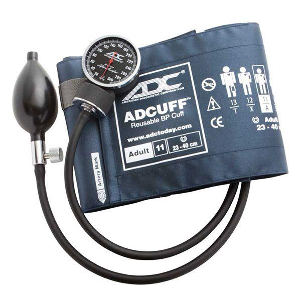 ADC Diagnostix 720 Pocket Aneroid Sphygmomanometer - Adult - Navy
