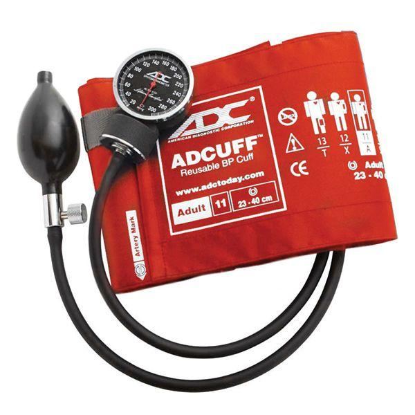 ADC Diagnostix 720 Pocket Aneroid Sphygmomanometer - Adult - Orange