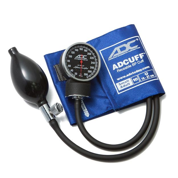 ADC Diagnostix 720 Pocket Aneroid Sphygmomanometer - Small Adult - Royal Blue