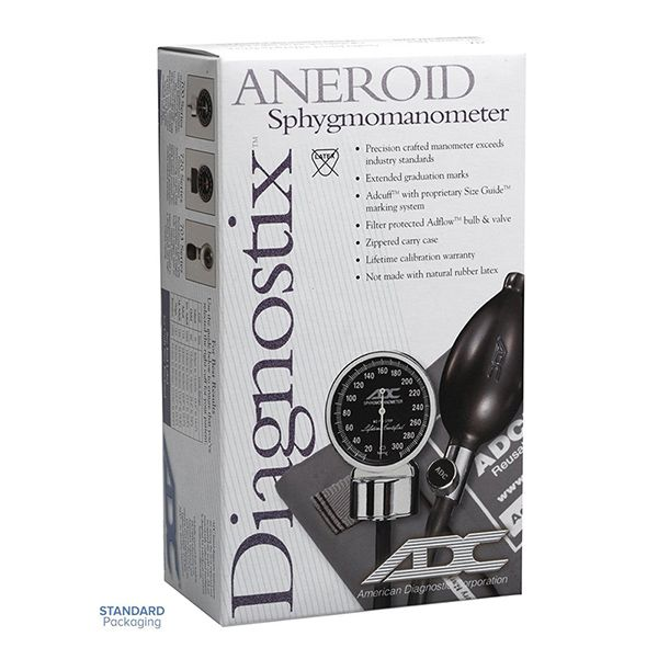 ADC Diagnostix 720 Pocket Aneroid Sphygmomanometer - Small Adult - Packaging