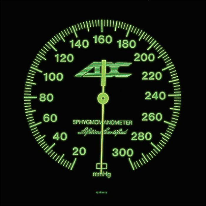ADC Diagnostix 752M Mobile Aneroid Sphygmomanometer - Luminescent Dial