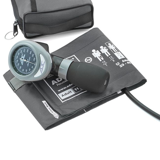 ADC Diagnostix 788 Palm Aneroid Sphygmomanometer - Gray