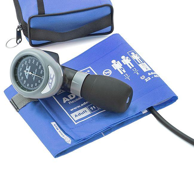 ADC Diagnostix 788 Palm Aneroid Sphygmomanometer - Royal Blue