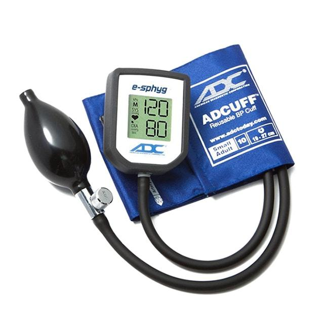 ADC E-Sphyg Digital Pocket Aneroid Sphygmomanometer - Small Adult - Royal Blue