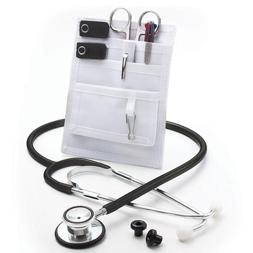 ADC Nurse Combo-Lite Proscope 670 Dual Head Stethoscope and Pocket Pal II Kit - Black