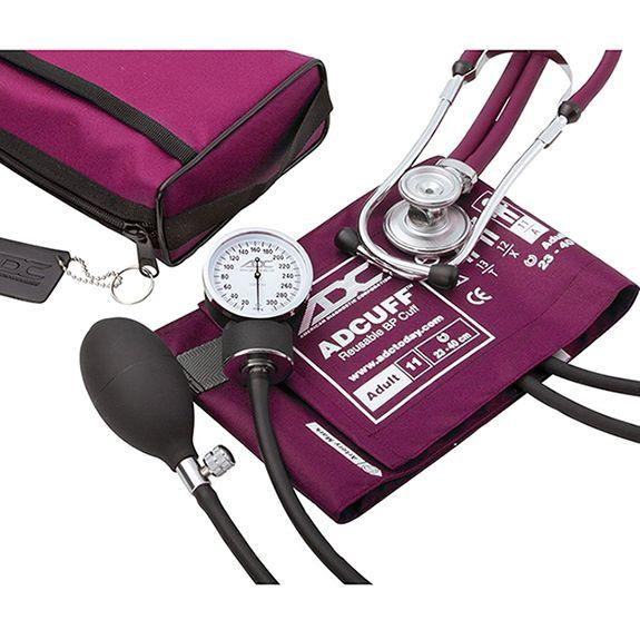 ADC Pro's Combo II 768-641 Pocket Aneroid/Sprague Scope Kit - Adult - Magenta
