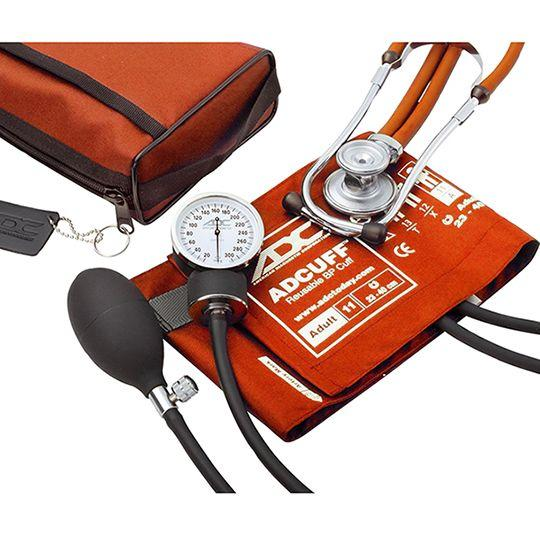 ADC Pro's Combo II 768-641 Pocket Aneroid/Sprague Scope Kit - Adult - Orange
