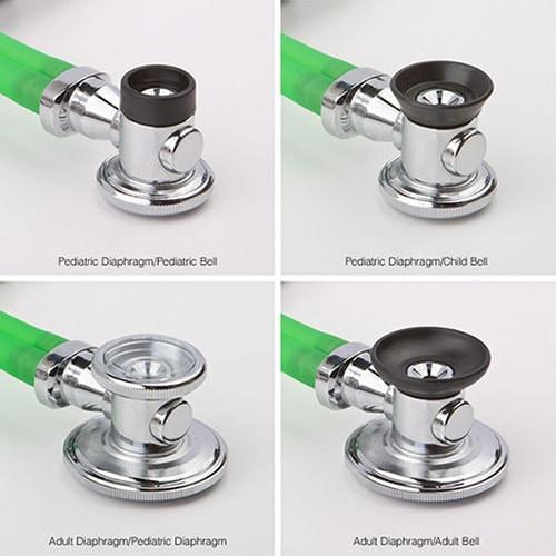 ADC Proscope 640 Sprague Stethoscope Bell Configurations