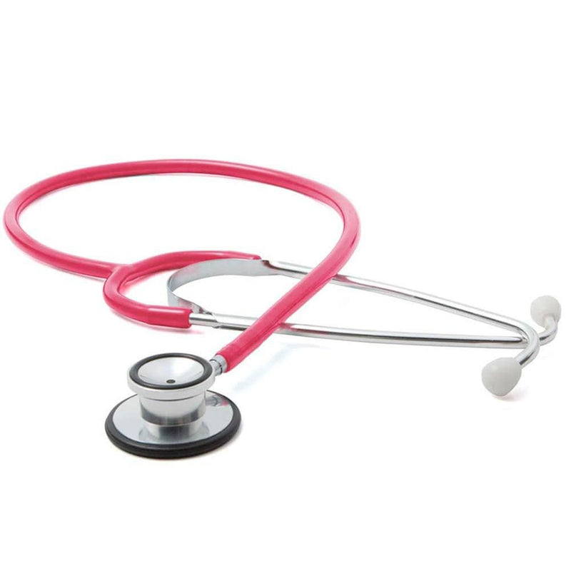 ADC Proscope 670 Dual-Head Stethoscope - Neon Pink