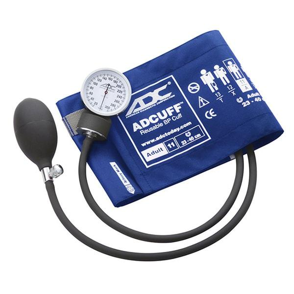 ADC Prosphyg 760 Pocket Aneroid Sphygmomanometer - Adult - Royal Blue