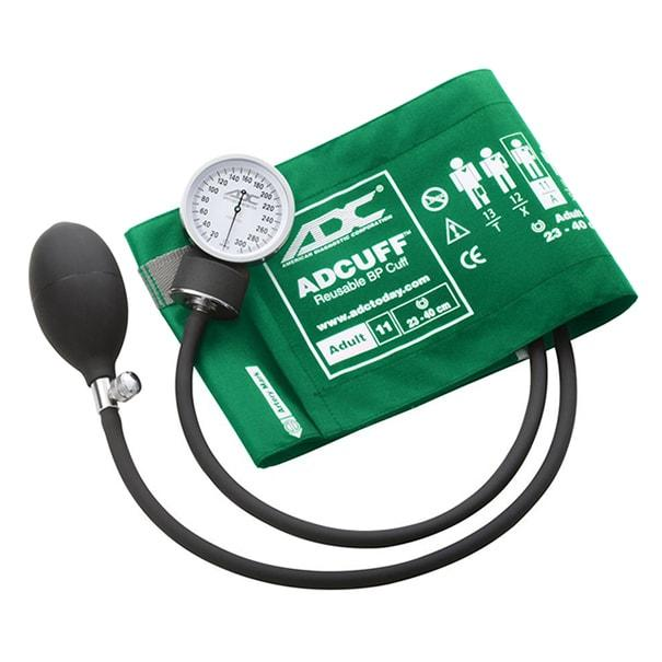 ADC Prosphyg 760 Pocket Aneroid Sphygmomanometer - Adult - Green