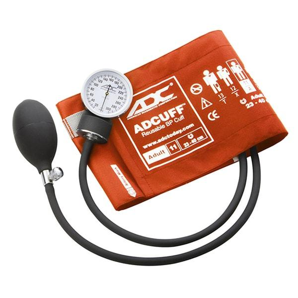 ADC Prosphyg 760 Pocket Aneroid Sphygmomanometer - Adult - Orange
