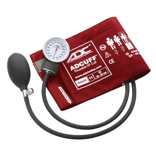 ADC Prosphyg 760 Pocket Aneroid Sphygmomanometer - Adult - Red